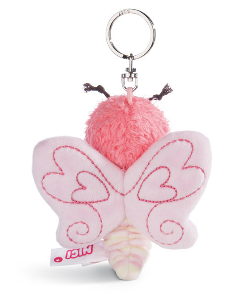 Schlüsselanhänger Schmetterling hellrosa