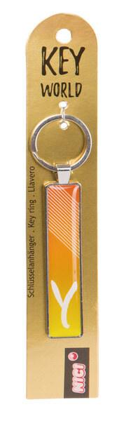 Schlüsselanhänger Key World 'Y'