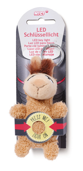 LED plush key light Llama Luis