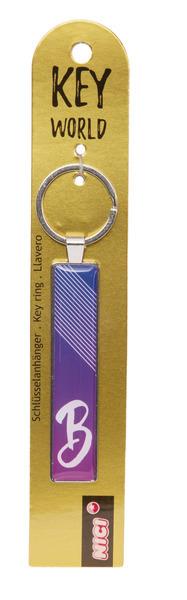 Schlüsselanhänger Key World 'B'