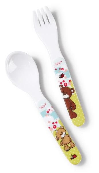 Kinderbesteck-Set NICI Classic Bear