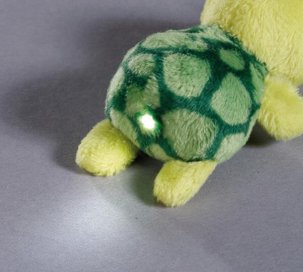 LED plush handbag light turtle Slippy
