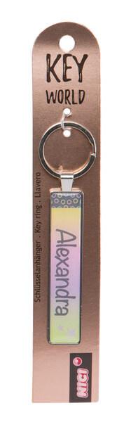 Keyring Key World 'Alexandra'