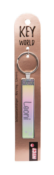 Keyring Key World 'Leoni'