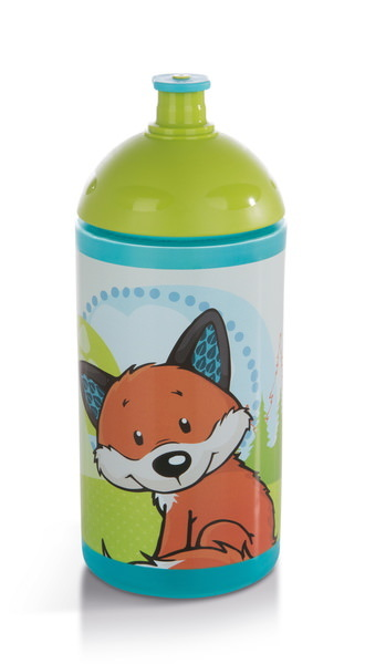 Trinkflasche Eule und Fuchs