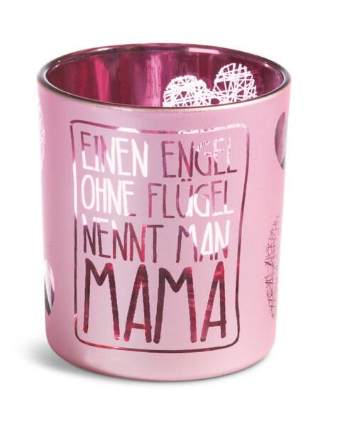 """Teelichthalter """"Mama"""""""