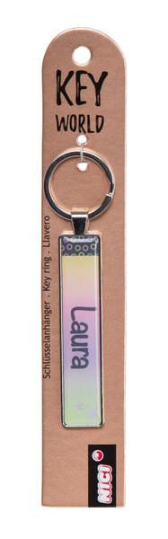 Schlüsselanhänger Key World 'Laura'