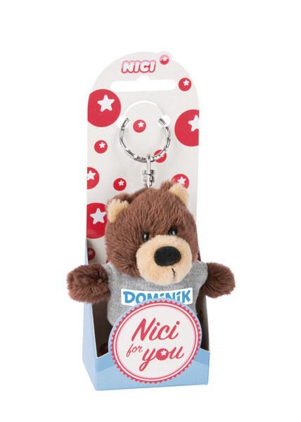 Keyring bear Dominik