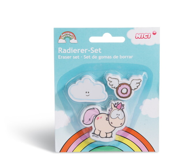 Eraser-set unicorn Theodor
