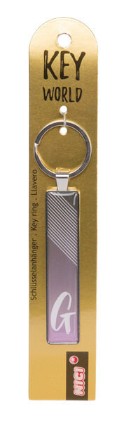 Schlüsselanhänger Key World 'G'