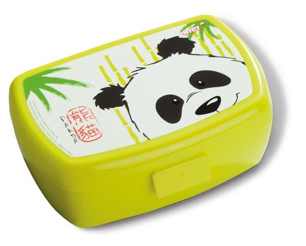Brotdose Panda Yaa Boo und Schlange Sascha