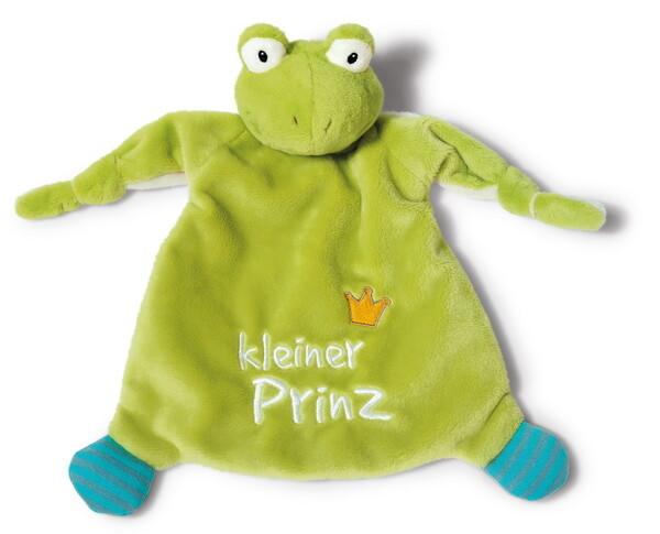 """Schmusetuch Frosch """"kleiner Prinz"""""""