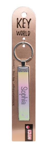Keyring Key World 'Sophia'