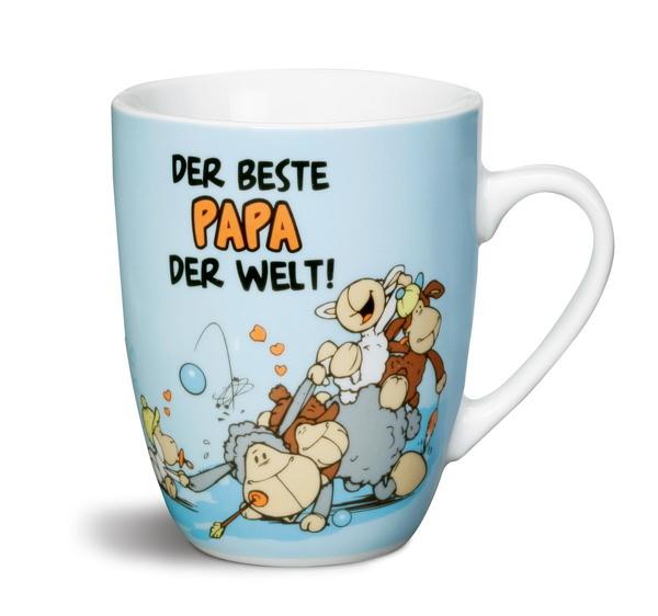 """Porzellantasse """"Der beste Papa der Welt!"""""""