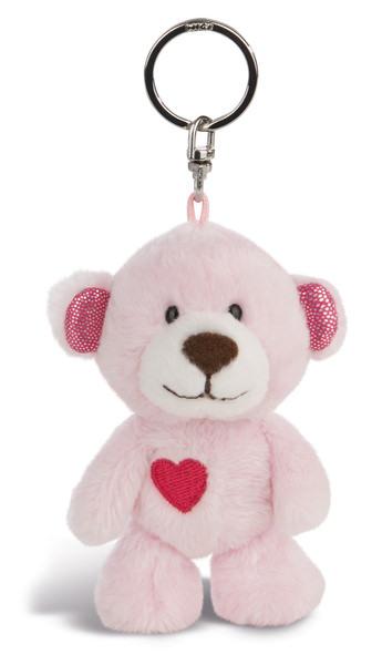 Schlüsselanhänger Love Bär Mädchen mit Herz