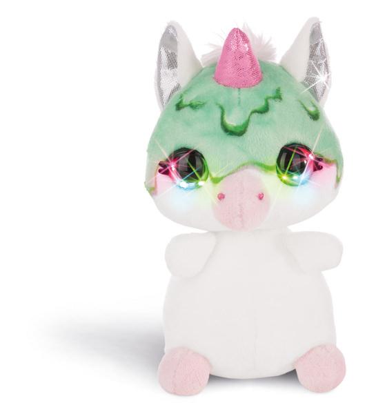 Flashies Kuscheltier Einhorn Guzz mit LED-Augen