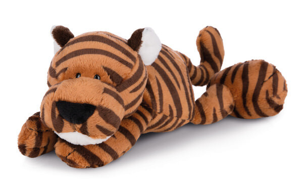 Lying cuddly toy tiger Balikou
