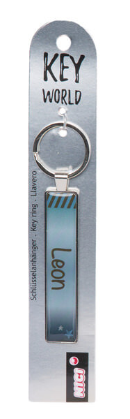 Keyring Key World 'Leon'