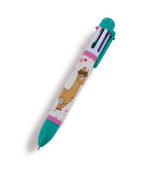 Mehrfarbiger Kugelschreiber Lamas