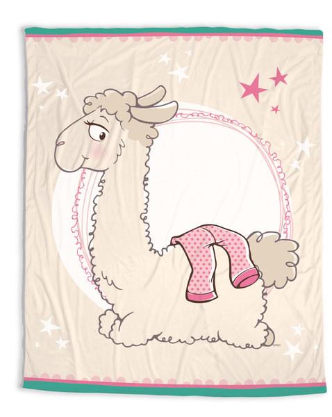 Fleecedecke Lama Lady