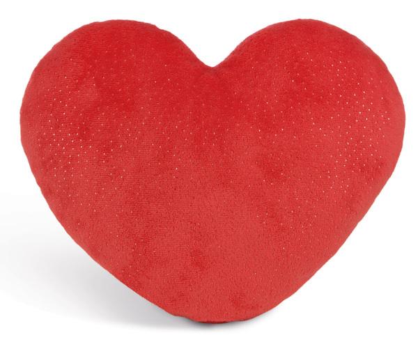 Heart-shaped cushion Love bear boy