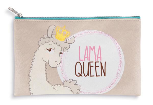 """Mäppchen Lama """"Lama Queen"""""""
