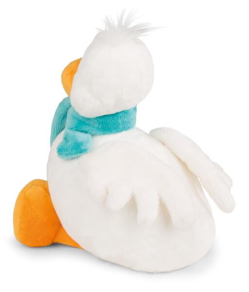 Cuddly toy snow goose Dr. Schnaddel