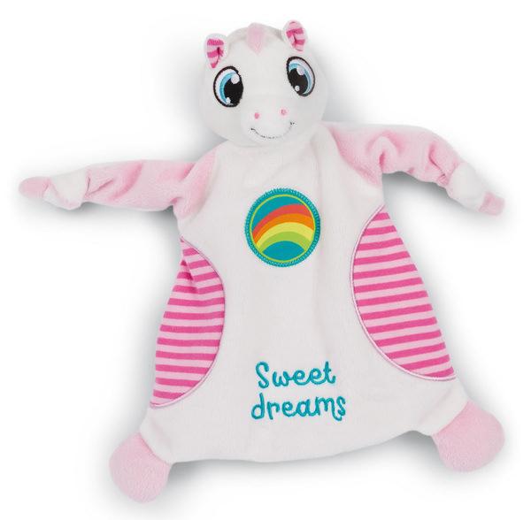 "Schmusetuch Schlafmützen Einhorn Fyala ""Sweet dreams"""