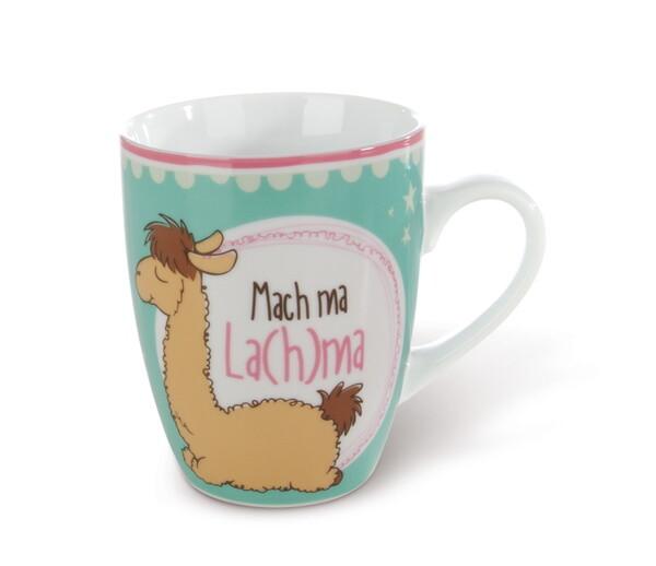 "Porzellantasse Lama Luis ""Mach ma La(h)ma"""