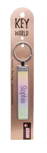 Keyring Key World 'Sophie'