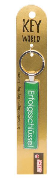 Keyring Key World 'Erfolgsschlüssel'
