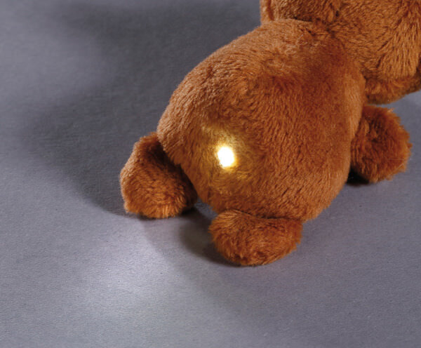 LED plush handbag light bear big bear brother