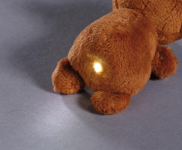 LED-Plüsch-Handtaschenlicht Bär großer Bärenbruder
