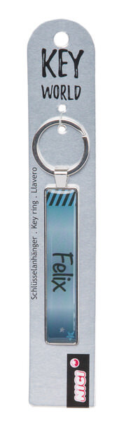 Keyring Key World 'Felix'