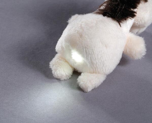 LED plush handbag light horse