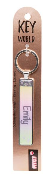 Keyring Key World 'Emily'