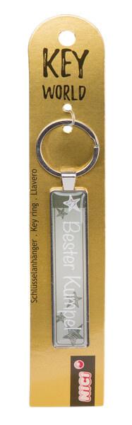 Schlüsselanhänger Key World 'Bester Kumpel'
