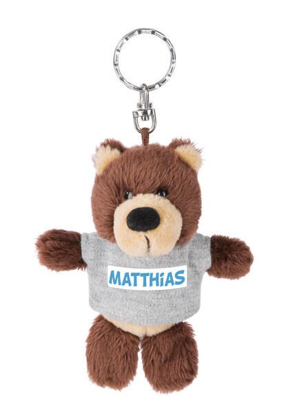 Keyring bear Matthias