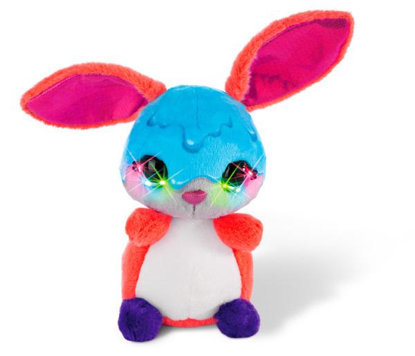 Flashies Kuscheltier Hase Dimdam mit LED-Augen