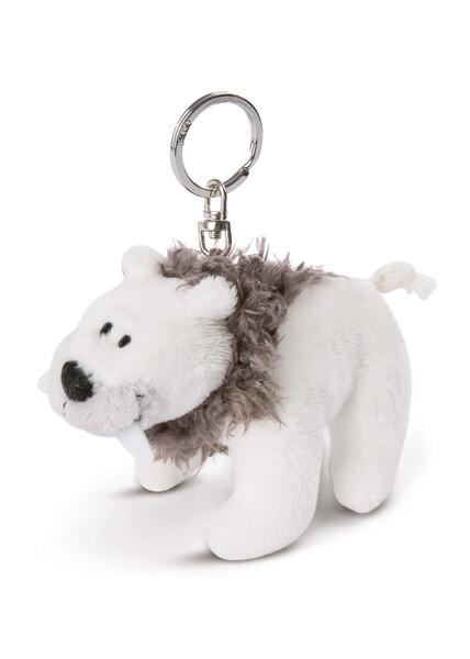 Key ring sabre-toothed polar bear Thorben