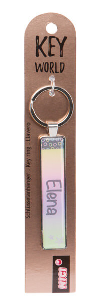 Schlüsselanhänger Key World 'Elena'