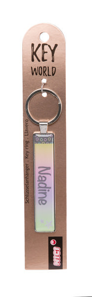 Keyring Key World 'Nadine'