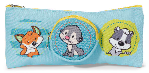 Pouch with coin purse Forest Friends
