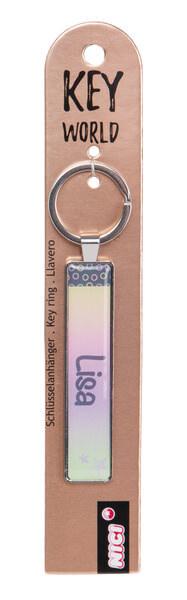 Schlüsselanhänger Key World 'Lisa'