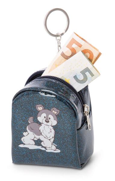 Mini keychain pouch Husky