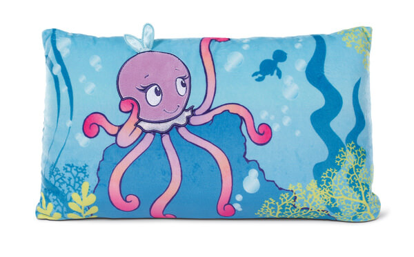 Rectangular Cushion Octopus Oktina-Oktopus