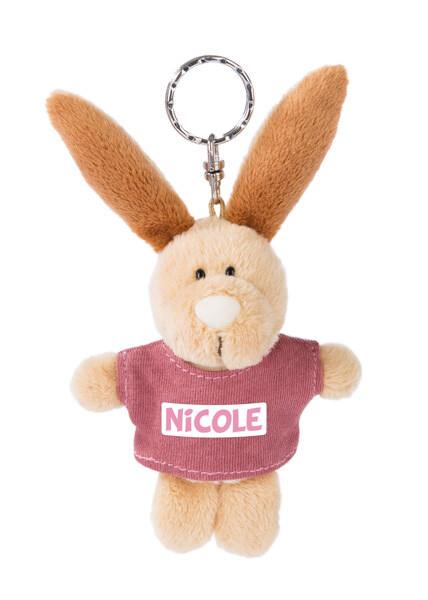 Keyring rabbit Nicole