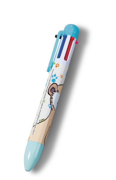 Mehrfarbiger Kugelschreiber Erdmännchen