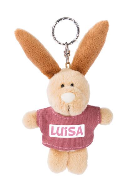 Schlüsselanhänger Hase Luisa