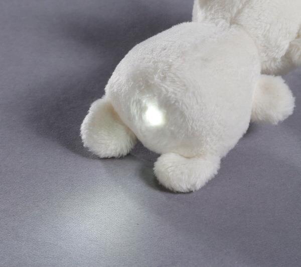 LED plush handbag light bear little bear sister